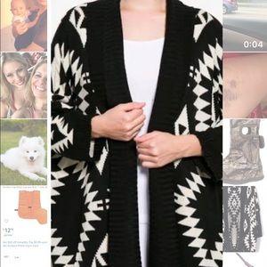Never Worn Lumiere Aztec Sweater
